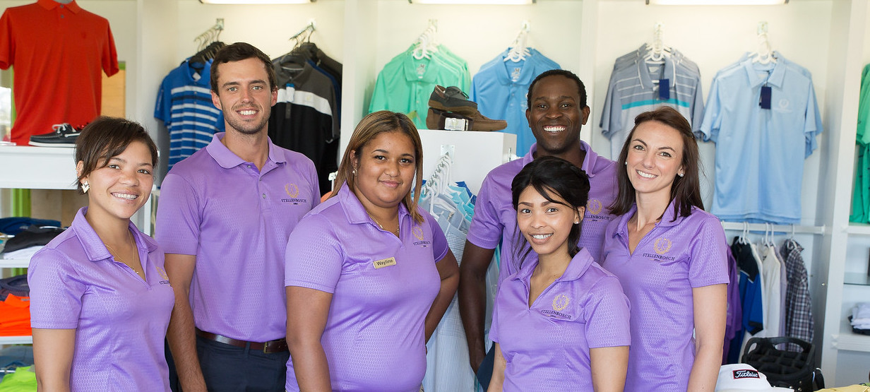 stellenbosch golf club pro shop staff